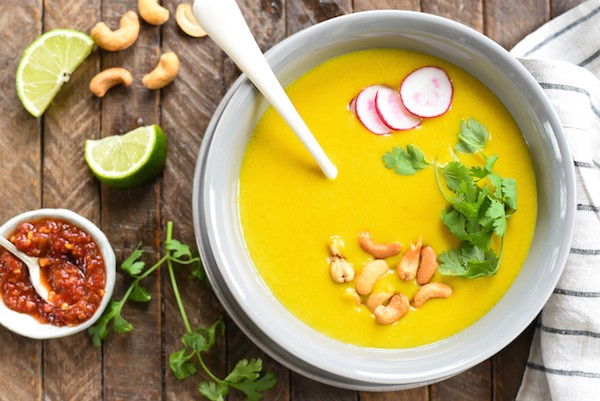 Thai Curry Potato Soup by Foxes Love Lemons
