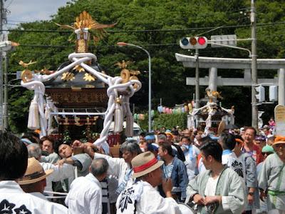 白旗神社例大祭