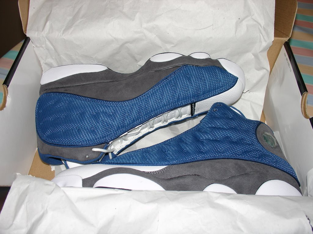 ric on the go: Blue and Flint 13s
