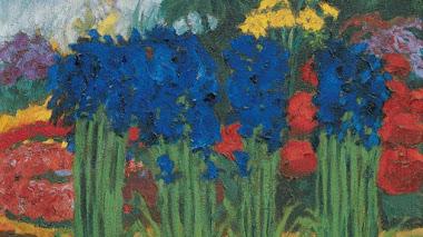Los colores de las flores y el jardín de Emil Nolde en Seebüll
