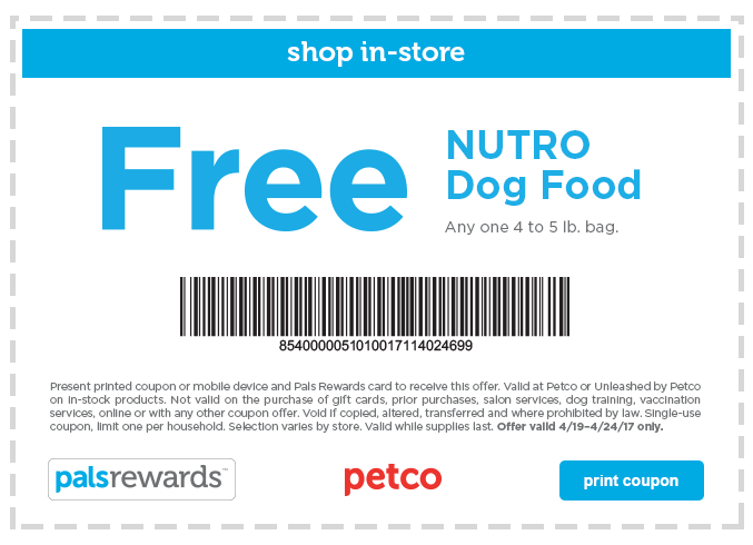 Nutro Dog Food Cost