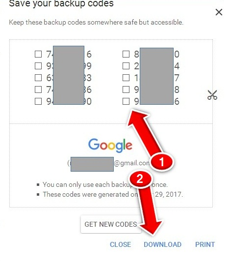 Enable 2 Step Verification Gmail