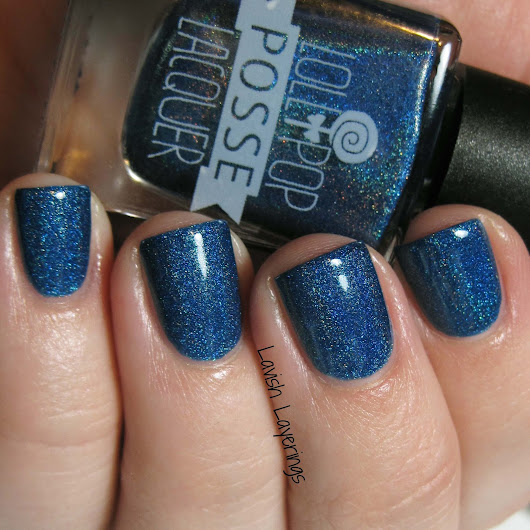 Polish Pickup June: Lollipop Posse Lacquer Sea Secret