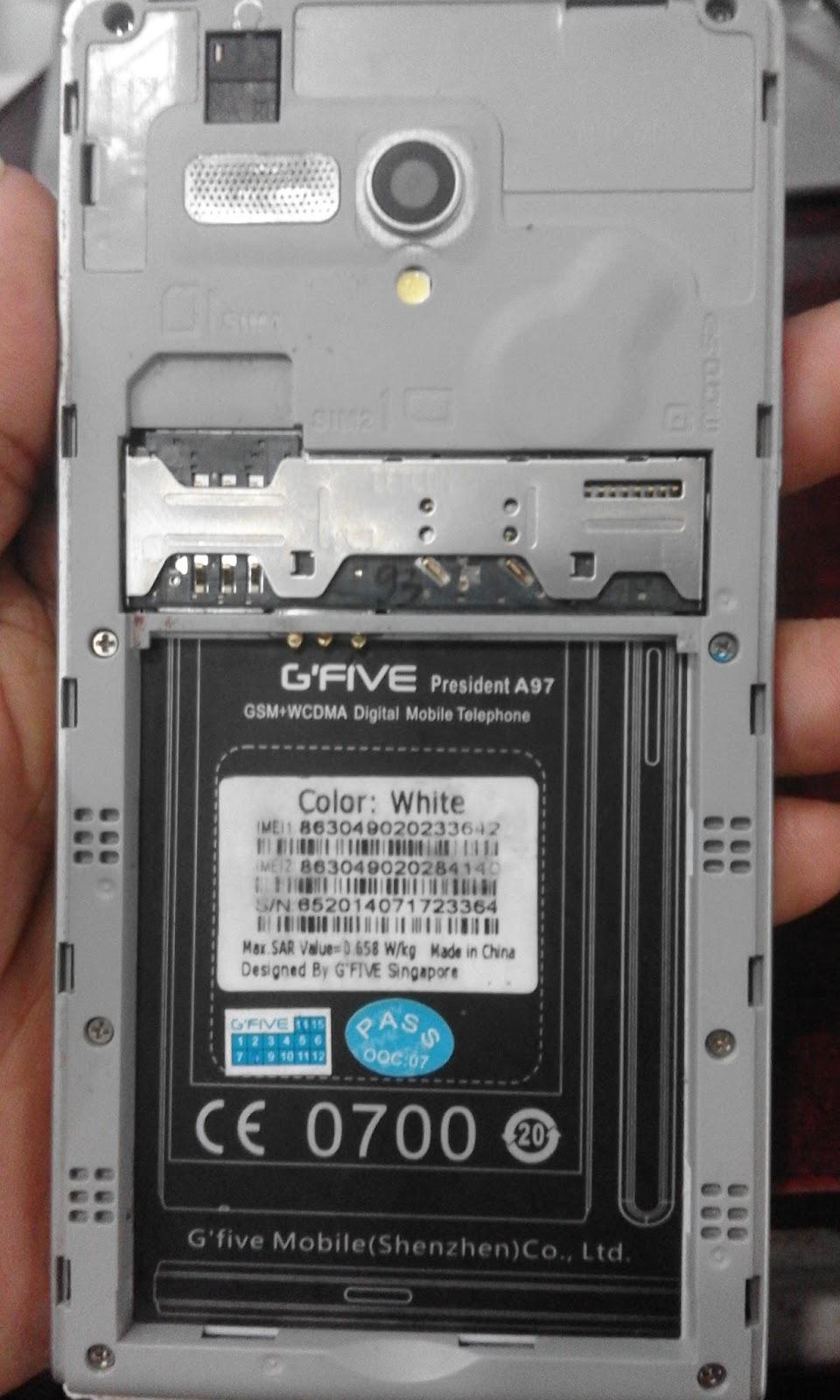 gfive a97 firmware