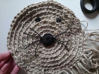 Bulles de Plume DIY Tête de Lion