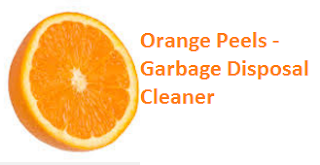 Orange Peels - Garbage Disposal Cleaner - Oranges citrus fruit peel (Santre Ke Chilke)