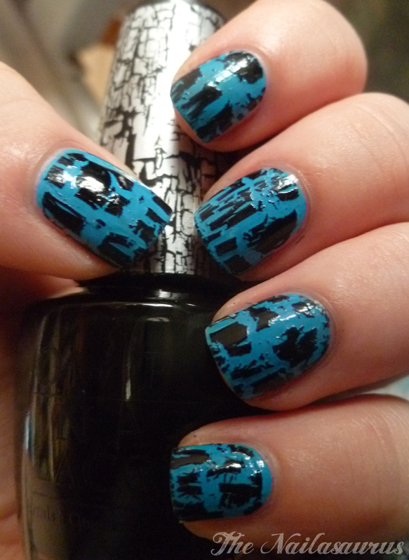 OPI Black Shatter And Other Cracking News - The Nailasaurus | UK