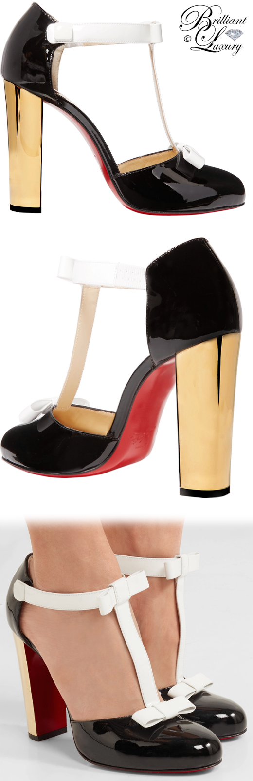 Brilliant Luxury ♦ Christian Louboutin Zerlita Pumps