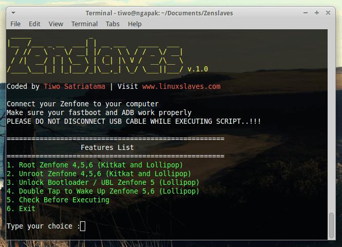 Zenslaves : Root, Unroot, Unlock Bootloader, ASUS Zenfone 2
