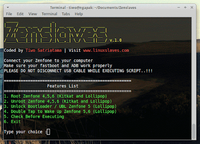 Zenslaves, Tool For Root, Unroot, Unlock Bootloader, ASUS Zenfone 4,5,6 Easily on Linux