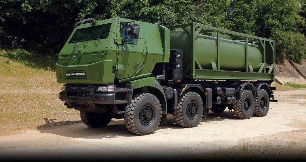 Mack Defense завершує поставку понад 1500 машин ЗС Канади
