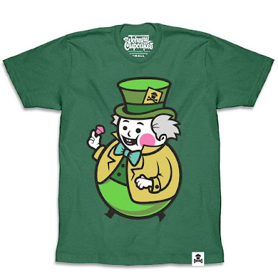 Disney's Alice in Wonderland T-Shirt Collection by Johnny Cupcakes