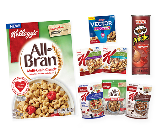 Tasty New Products from Kellogg's, #giveaway