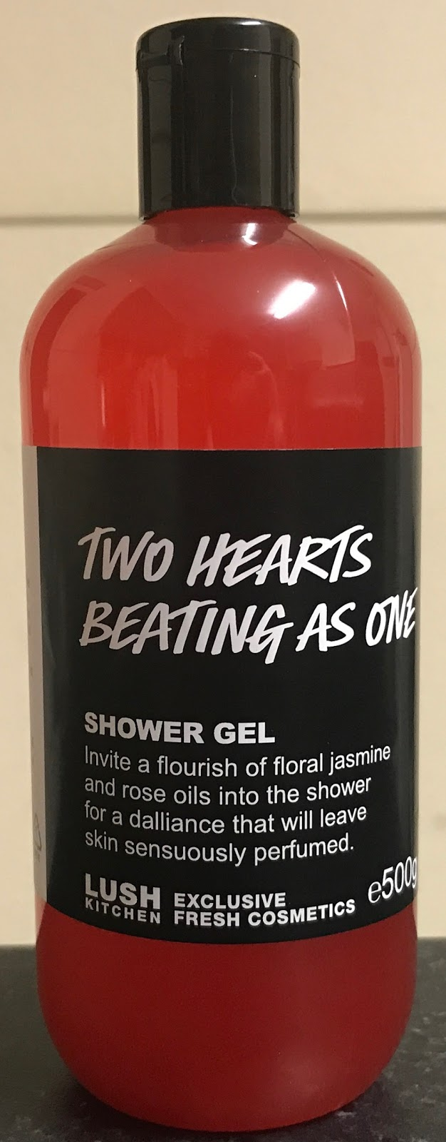 All Things Lush Uk Two Hearts Beating As One Shower Gel