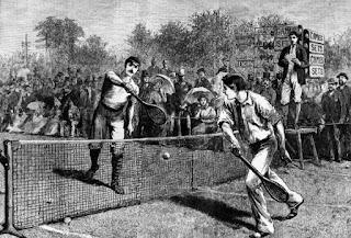 Sejarah Tenis Lapangan