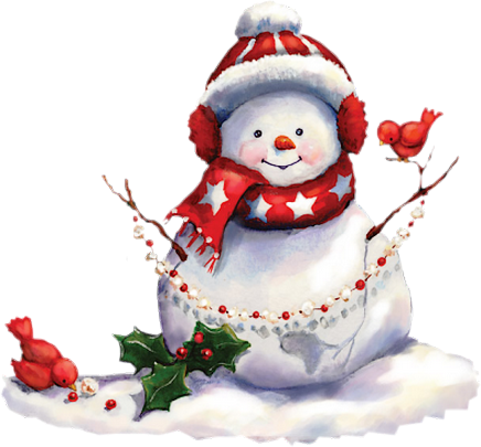 tube noel bonhomme de neige