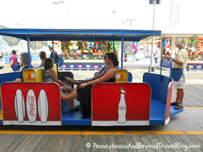 Wildwood New Jersey World-Famous Sightseer Tram Car
