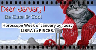 Horoscope Week of January 29  2017 Love and money forecast LIBRA to PISCES