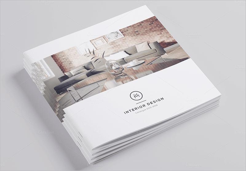 Thi t k h s n ng l c for Interior brochure designs