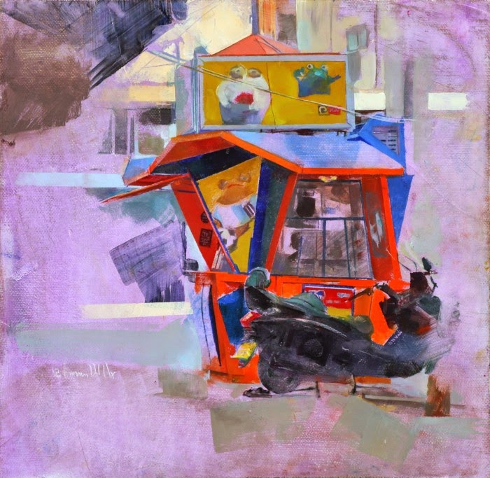 Современный израильский художник. Amnon David Ar