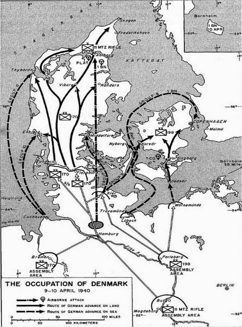 Germany Invades Denmark