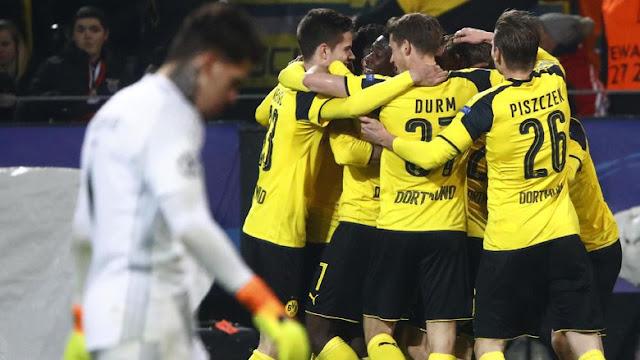 Aubameyang Hat-trick, Dortmund Singkirkan Benfica