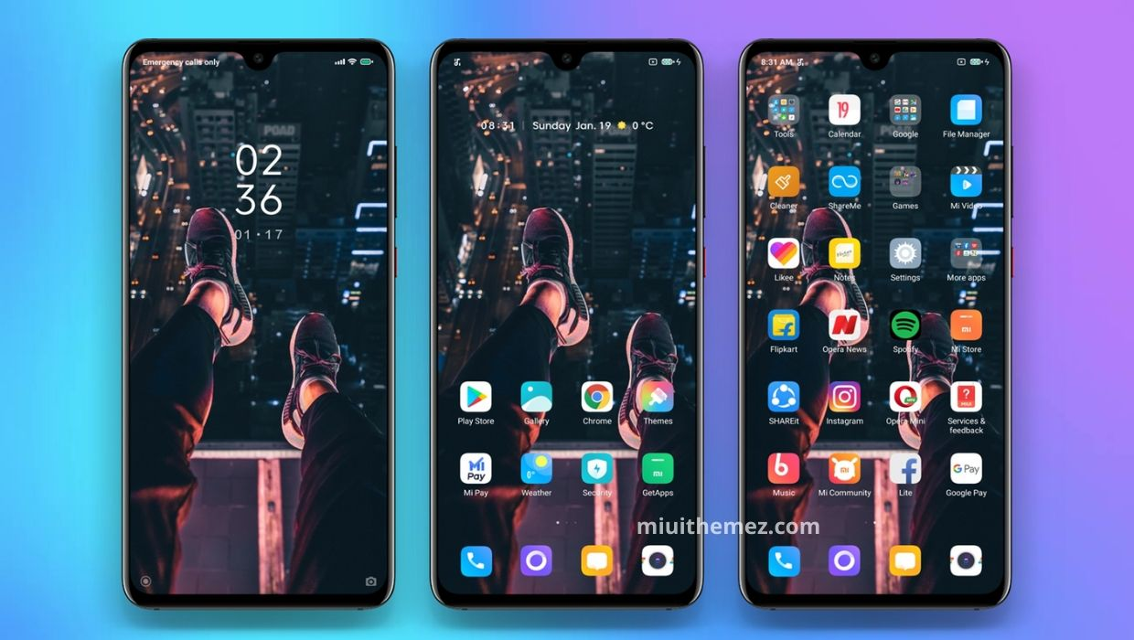 Whiter Dark v2 MIUI 11 Theme