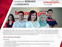 Lowongan kerja PT. Sigma Cipta Caraka , Telkom Indonesia Desember 2016