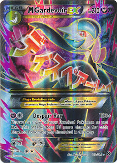 Mega Gardevoir EX Steam Siege Pokemon Card