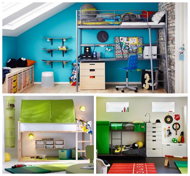 dormitorio infantil cama kura ikea hacks bedroom kids