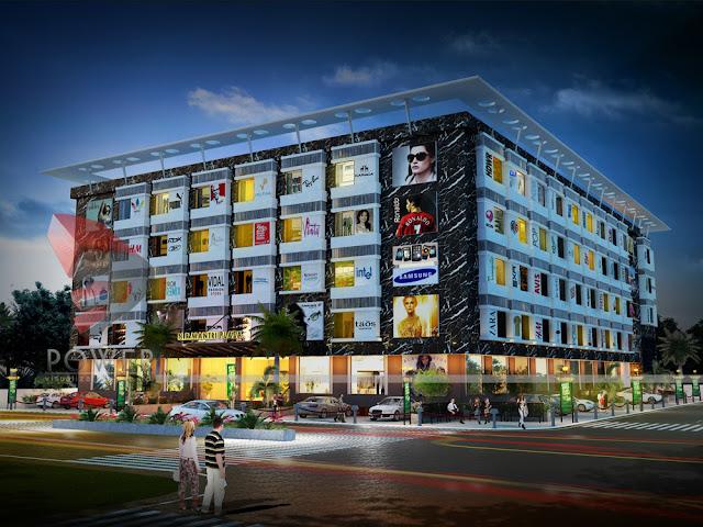 3D Rendering Shopping Mall & Multiplex