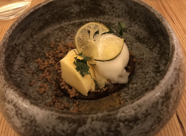 Atlas Dining, South Yarra, pisco custard