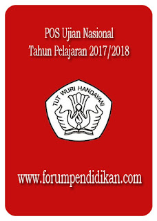 POS Ujian Nasional 2017/2018