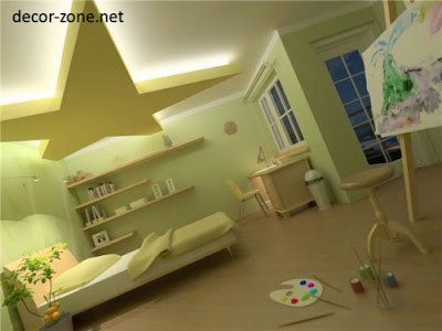 total bedroom lighting ideas, false ceiling lighting