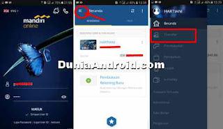 Login ke mandiri online mobile banking