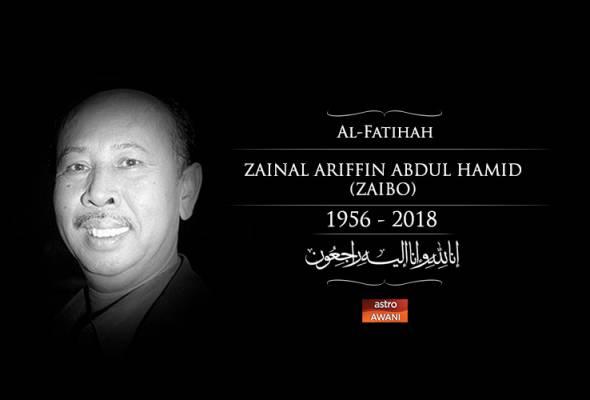 Pelakon Zaibo meninggal dunia.. Innalillah. AL FATIHAH