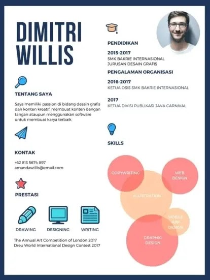 Contoh CV PKL SMK Multimedia
