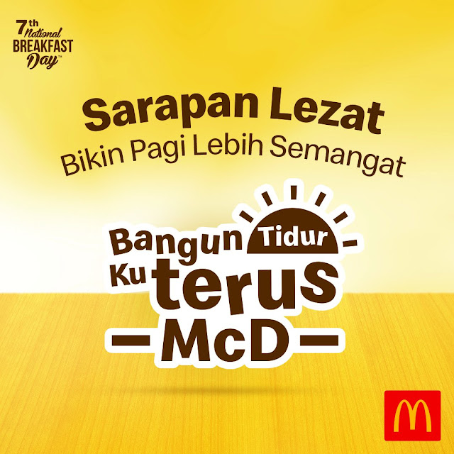 #McDonalds - #Promo Sarapan Lezat GRATIS Chicken Muffin Breakfast Day (11 Maret 2019)