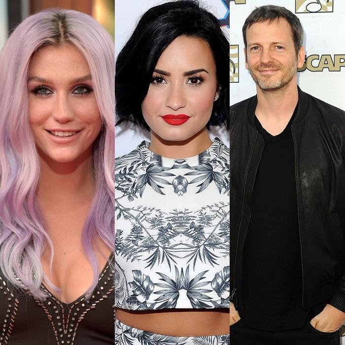Demi Lovato insinúa que Dr. Luke está mintiendo y que sí abusó de Kesha.