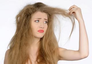 rambut kering