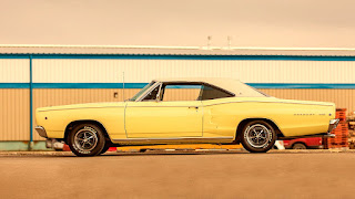 1968 Dodge Coronet 500 Sport Coupe Side Left
