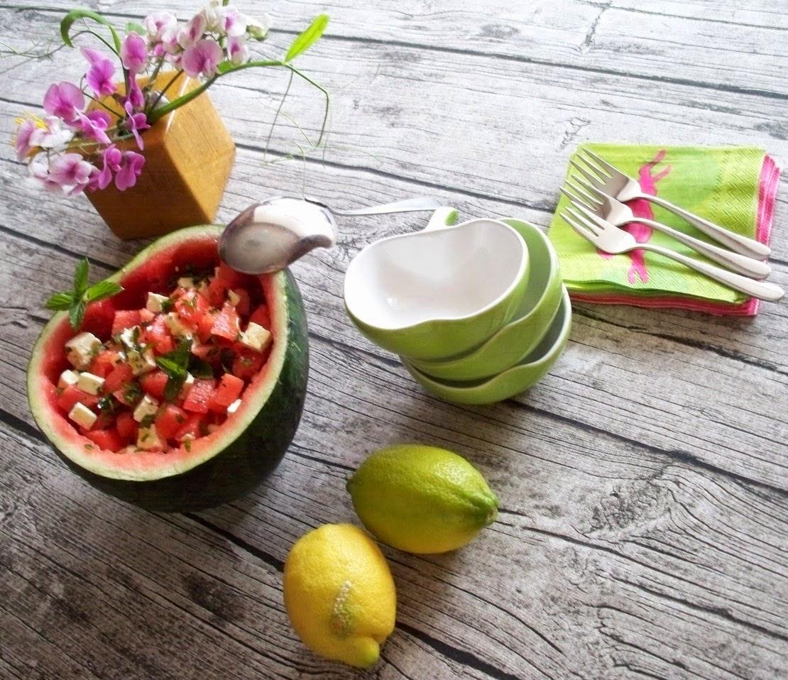 zahnfeee s blog melonen salat. Black Bedroom Furniture Sets. Home Design Ideas