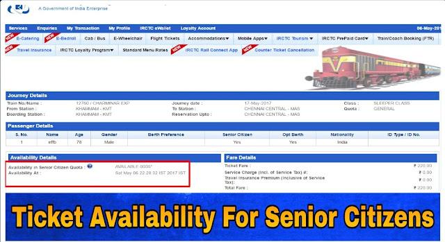 irctc senior citizen ticket