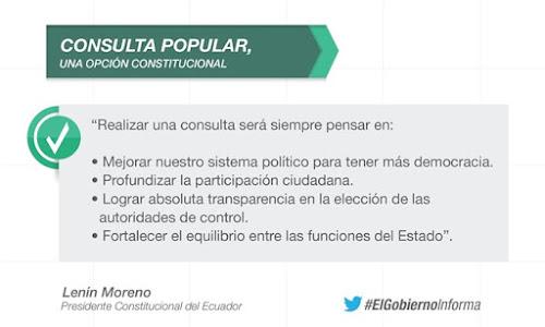 Comisión Anticorrupción propone 4 preguntas para que se incluyan en la consulta popular