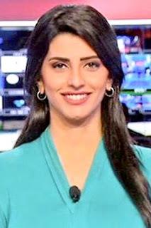 لارا نبهان (Lara Nabhan)، مذيعة لبنانية، تعمل في قناة الحدث