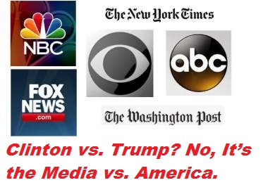 Image result for clinton media bias
