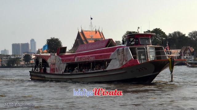 boat di sungai chao phraya
