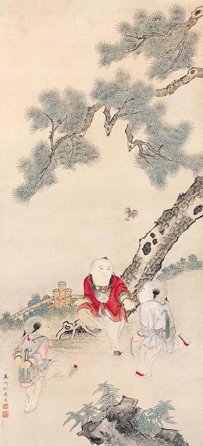 Dibujo chino sobre Jianzi