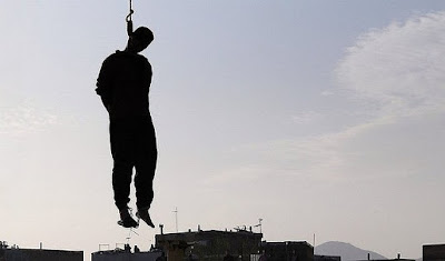 Public hanging in Iran (file photo)