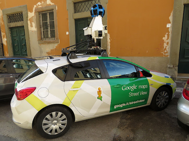 Google Maps Camera Car, Livorno